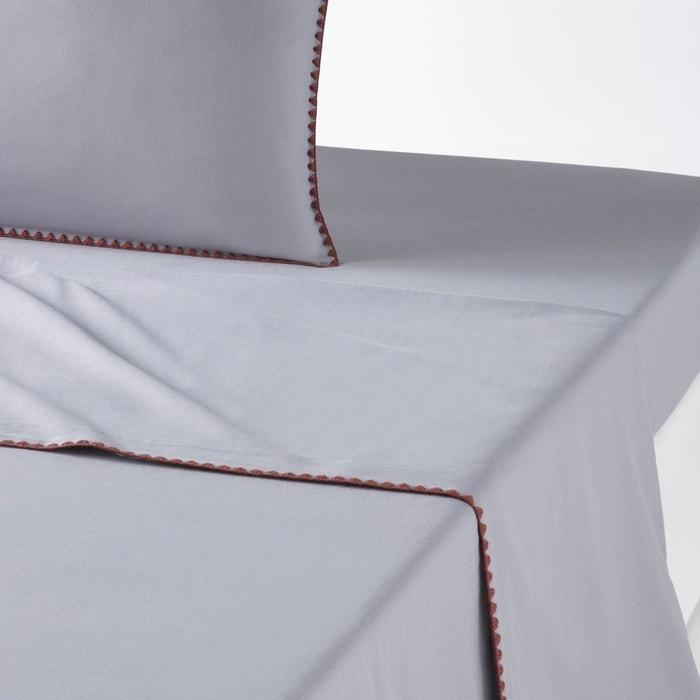 drap plat uni brod merida la redoute interieurs la redoute. Black Bedroom Furniture Sets. Home Design Ideas