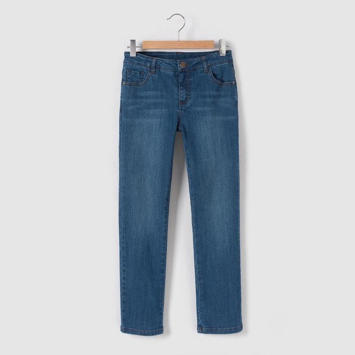 Bild Verkürzte Jeans, gerade Form, 10-16 Jahre La Redoute Collections