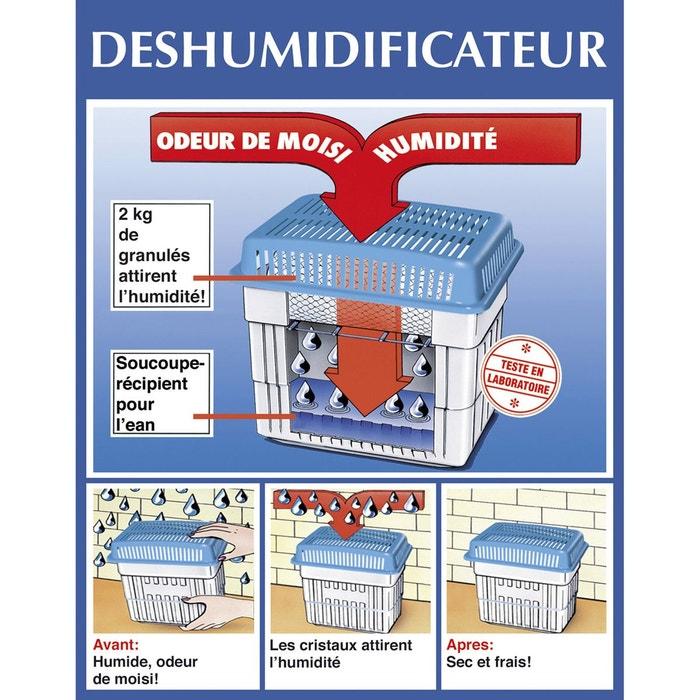 recharge pour d shumidificateur 2 kg wenko la redoute. Black Bedroom Furniture Sets. Home Design Ideas