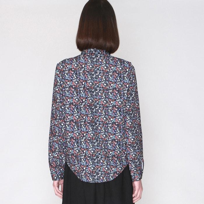 Blusa manga estampado PEPALOVES larga floreado 0Uq6x6dw