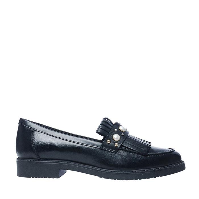 Loafers avec perles et franges  noir Sacha  La Redoute