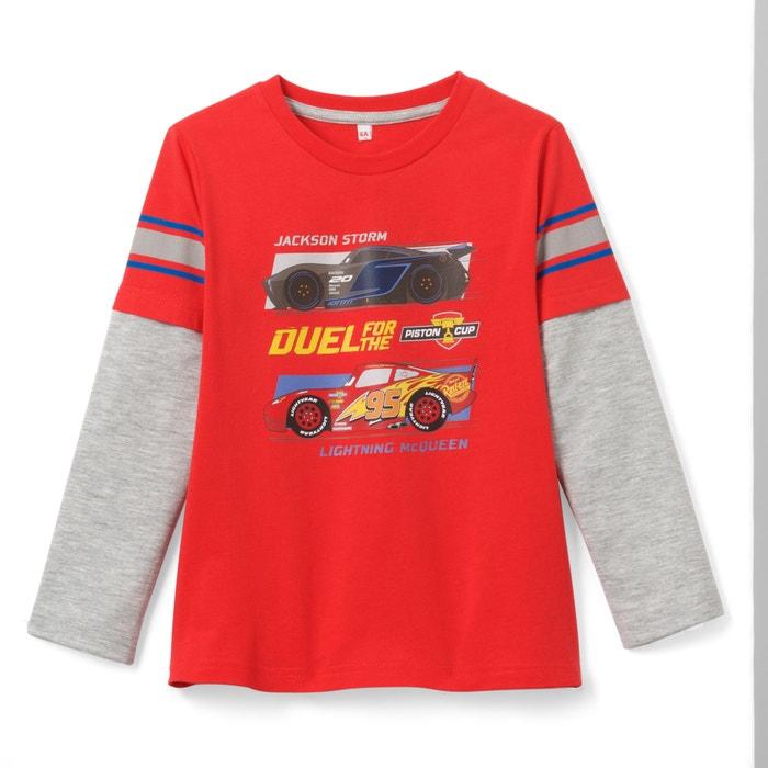 T-shirt a maniche lunghe da 3 a 12 anni  CARS image 0