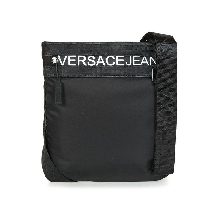 6219eb378a Sacoche linea macrologo dis 5 noir Versace   La Redoute