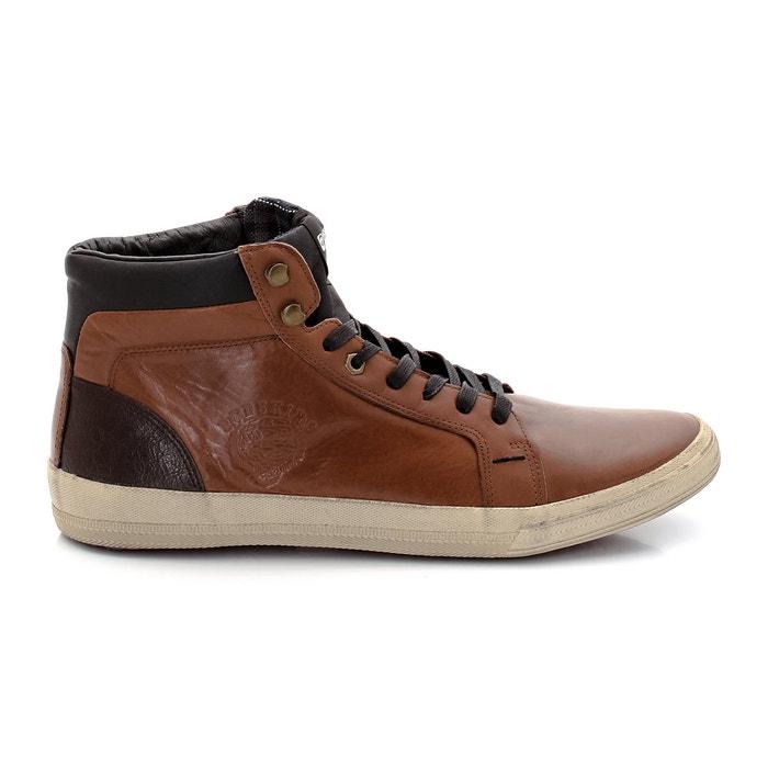Imagen de Zapatillas deportivas de caña alta, con cordones, Agosti REDSKINS