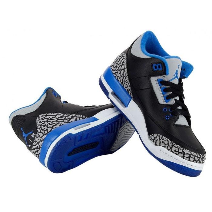 the best attitude 17cd0 7522b Basket nike air jordan 3 retro (gs) - 398614-007 noir Nike   La Redoute