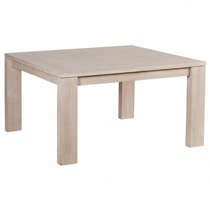 Table de repas extensible ch ne massif manille ch ne Table extensible chene massif