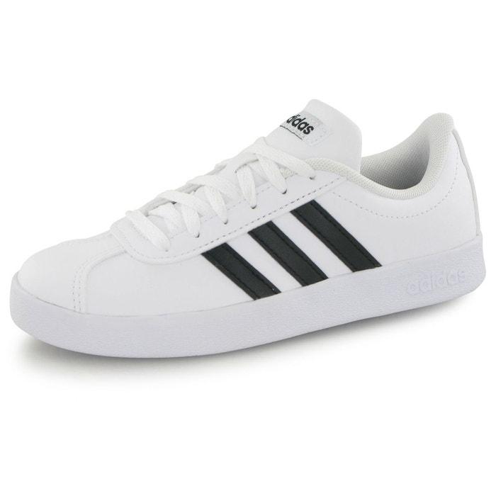 finest selection 62683 a3b77 Baskets vl court 2.0 blanc Adidas  La Redoute