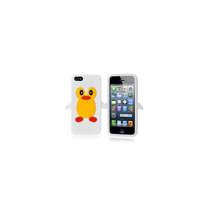 coque iphone 5 pingouin