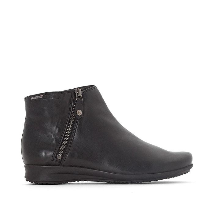 Boots cuir filipina noir Mephisto Acheter Pas Cher Vraiment Pas Cher sIw1NK
