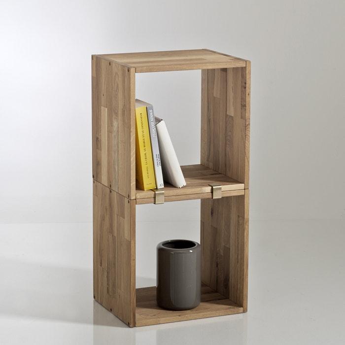 Set Of 2 Edgar Oak Storage Cubes La Redoute Interieurs Image 0