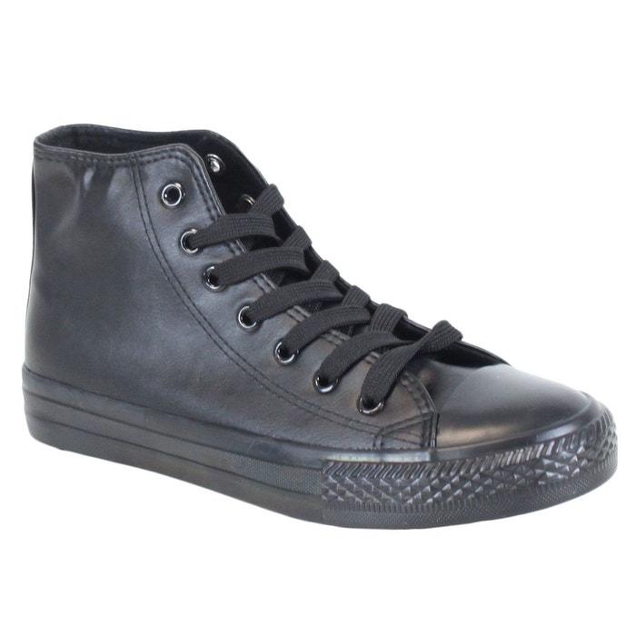 Baskets 80054-1 all black noir Kebello