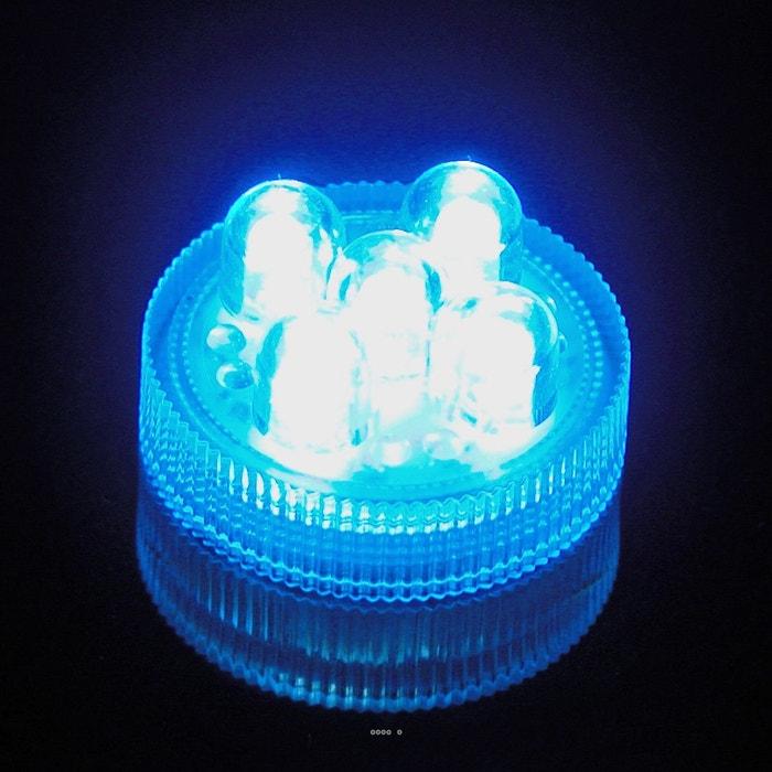 led 5 points couleur bleu submersible reutilisable livre avec ses 2 piles choisissez la. Black Bedroom Furniture Sets. Home Design Ideas