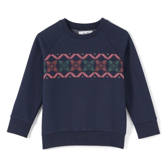 Printed Sweatshirt, 3-12 Years  La Redoute Collections image 0