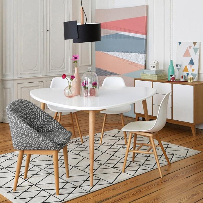 Set of 2 jimi scandinavian style chairs la redoute - La redoute table salle a manger ...