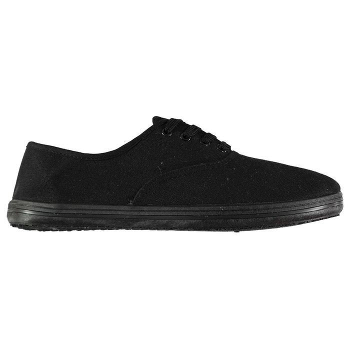huge selection of ee279 1ddca Chaussures tennis en toile noir Slazenger   La Redoute