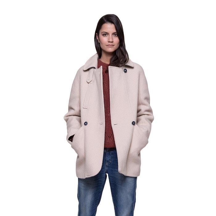 douce extra et laine Manteau La Trench chaude Coat court en And 1gnIA