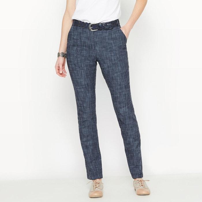 Image Straight Jeans in Stretch Denim ANNE WEYBURN
