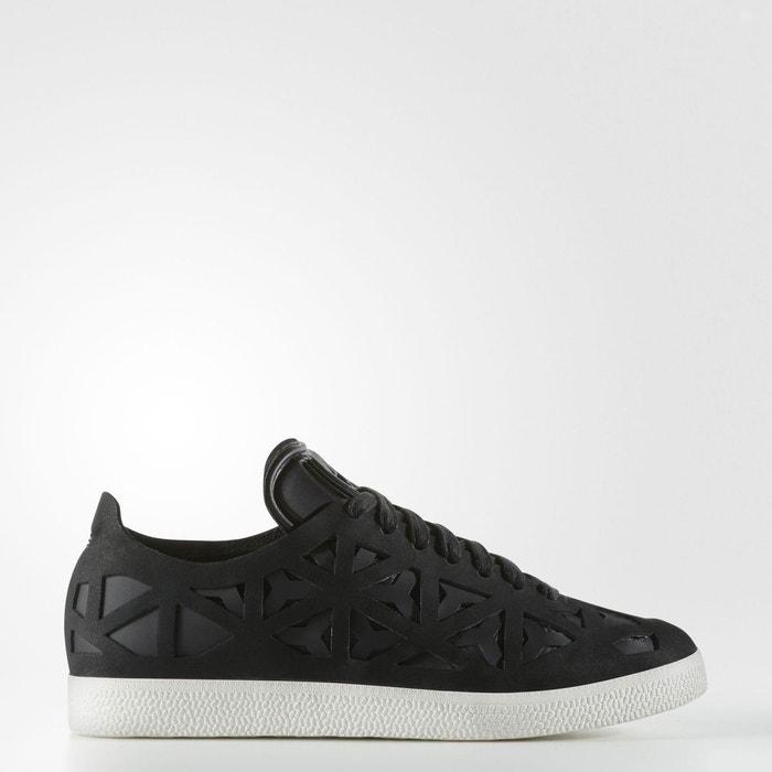 Baskets gazelle cutout noir Adidas Originals