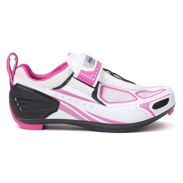 7371a118487e7 Chaussures de vélo rose triathlon imperméable blanc, noir, rose vélo  Muddyfox 6c2bd3