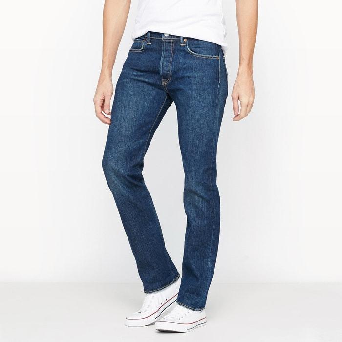 Jeans 501 regular, dritti in denim  LEVI'S image 0