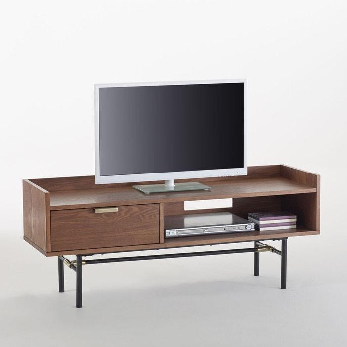 meuble tv - meuble tv design, blanc, d'angle | la redoute - Meuble D Angle Tv Design