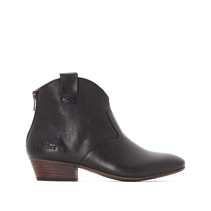 afbeelding Boots in leer Western KICKERS