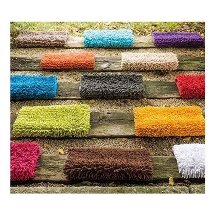 tapis de bain chenille lasa home la redoute. Black Bedroom Furniture Sets. Home Design Ideas