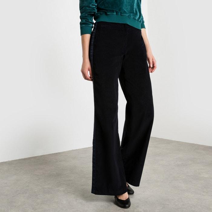 Image Pantaloni larghi in velluto COLLECTOR X LA REDOUTE MADAME