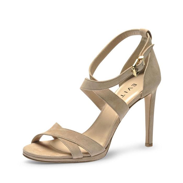 Sandales Avec Sangle Chaussures Evita Opale PNT6xtZ3RQ