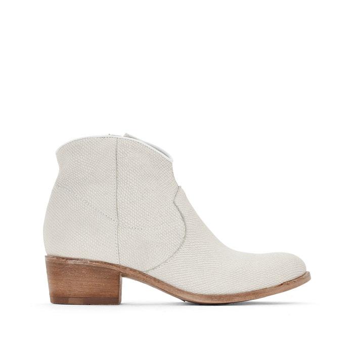 Image Boots cuir à talon Donella MJUS