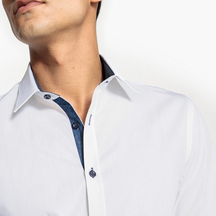 fantas Camisa Redoute La slim 237;a con detalles Collections qFBxwY