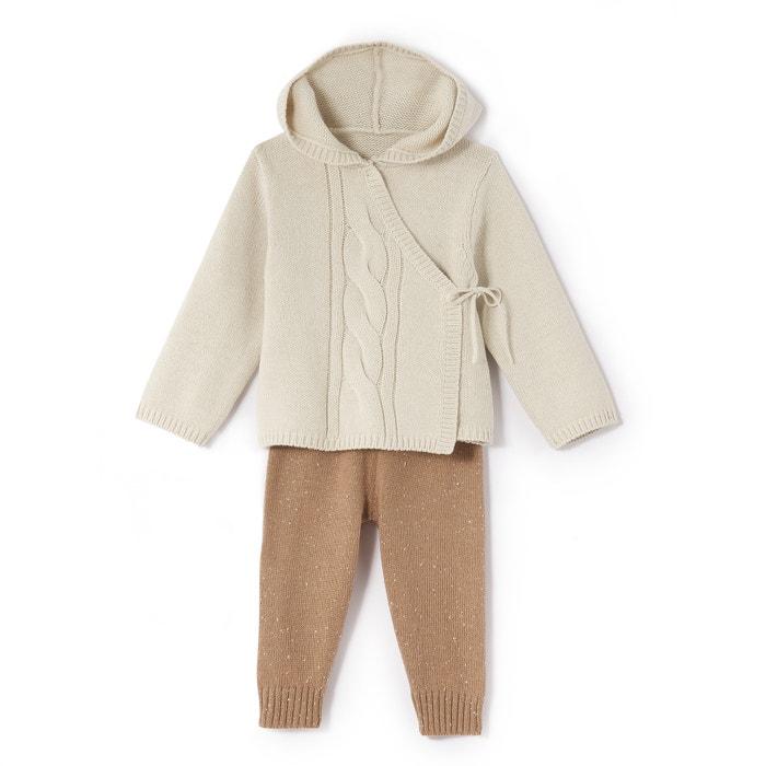 Image Completo bébé cappuccio, maniche lunghe Oeko Tex La Redoute Collections