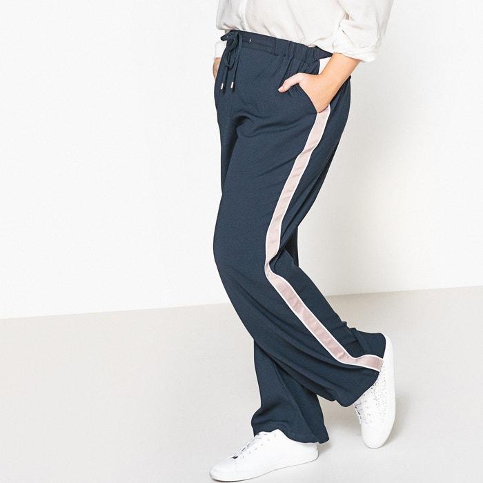 Image Pantalon bande cotés CASTALUNA