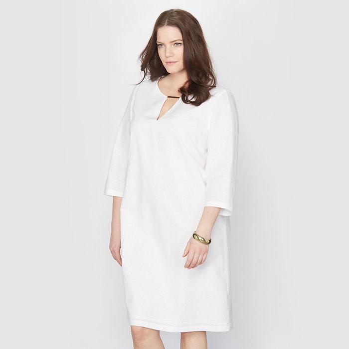 Imagen de Vestido de lino y algodón TAILLISSIME