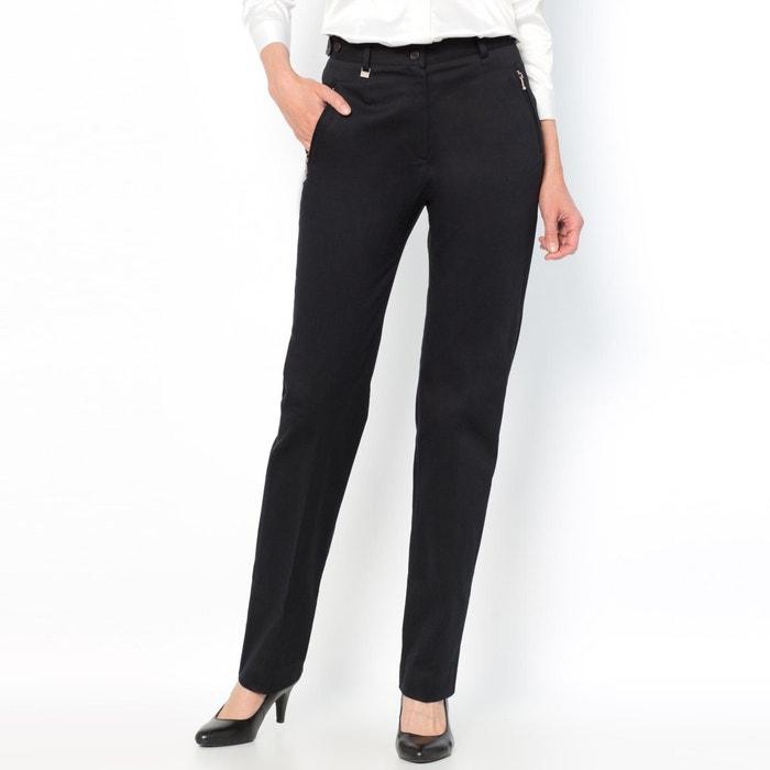 Image Pantalon, satin de coton stretch ANNE WEYBURN