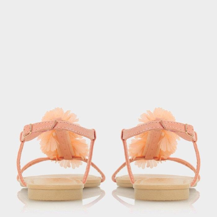 Sandales ornées de fleurs à bout ouvert - liillies Head Over Heels By Dune