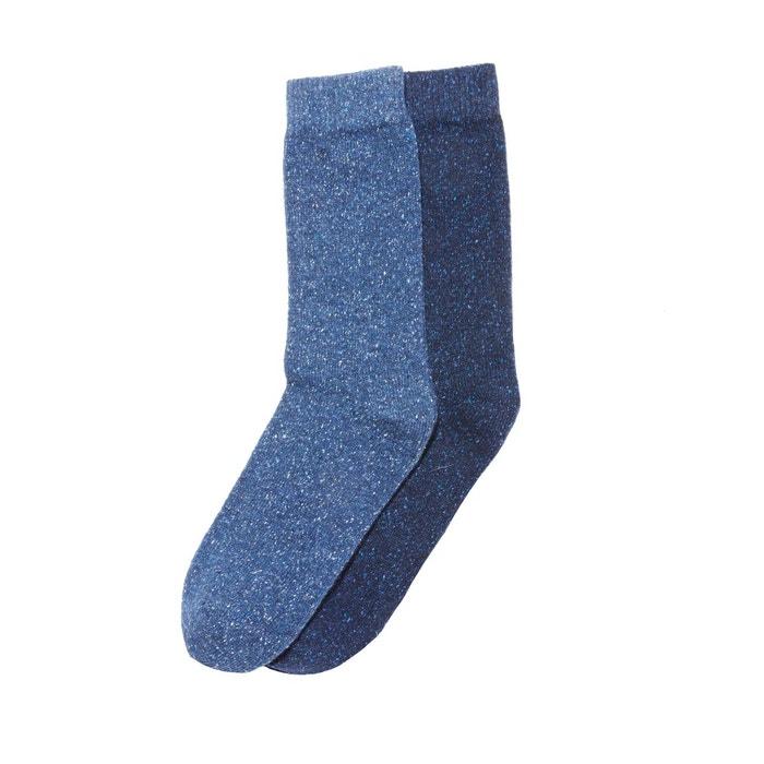 6bd9ab9a04d88 Lot de 2 paires de chaussettes La Redoute Collections | La Redoute