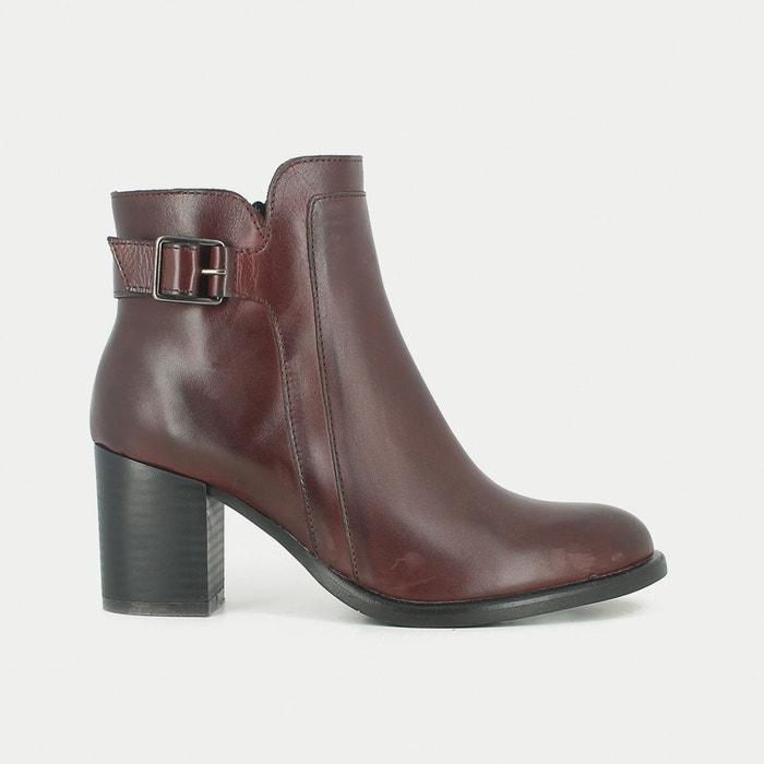 Image Boots cuir à talon Tulia JONAK