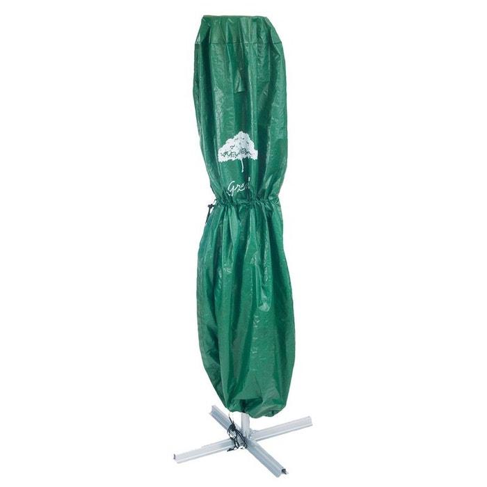 b che de jardin imperm able pour parasol vert compactor la redoute. Black Bedroom Furniture Sets. Home Design Ideas