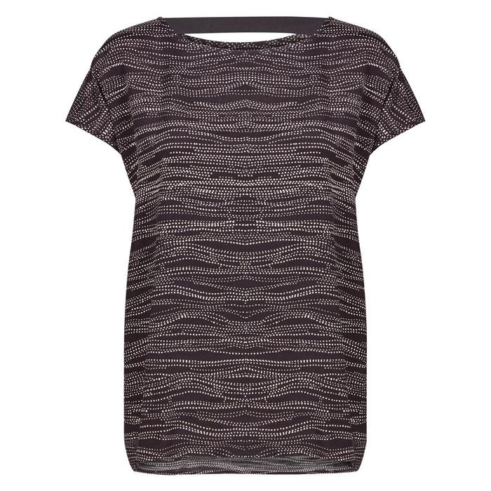 Bedrukte blouse met korte mouwen  NUMPH image 0
