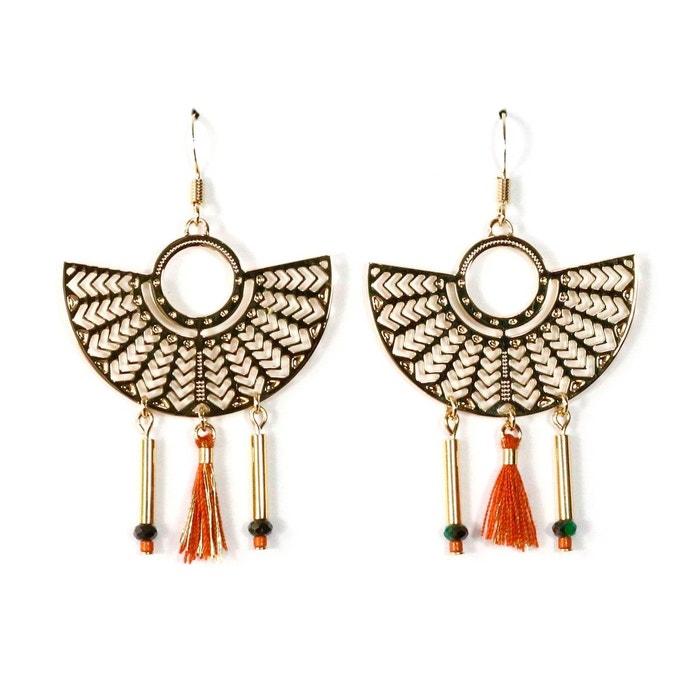Boucles d'oreilles pendantes bo2 nile Mademoiselle Aimé | La Redoute À La Vente Acheter En Ligne Authentique tKHXz1Hd