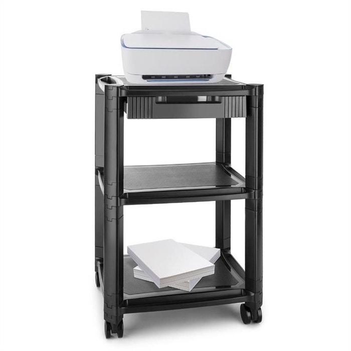 auna p stand table roulante 3 tages pour imprimante. Black Bedroom Furniture Sets. Home Design Ideas