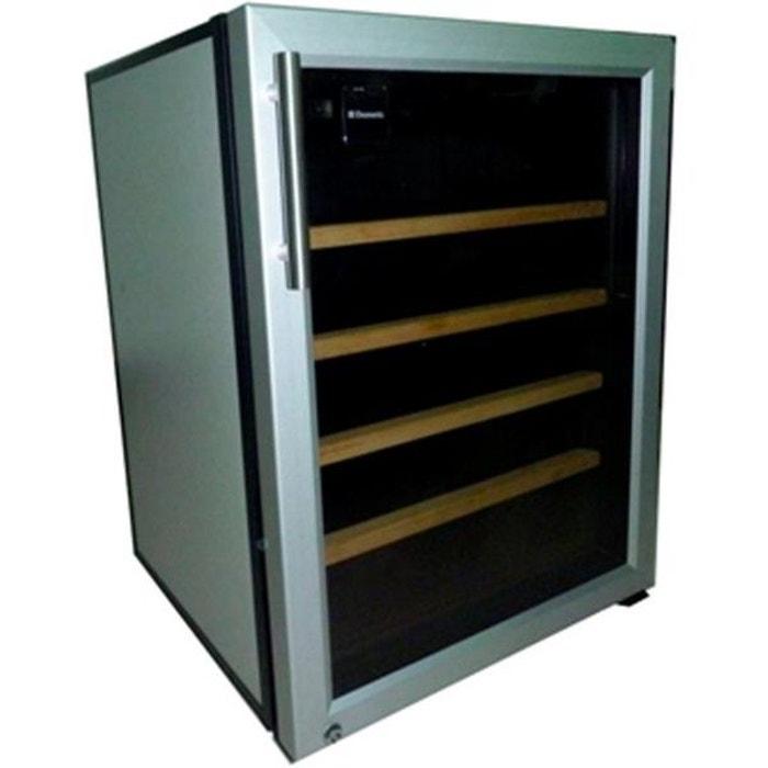cave vin de service 1 temp 25 bouteilles acier bross aci dom605e encastrable. Black Bedroom Furniture Sets. Home Design Ideas