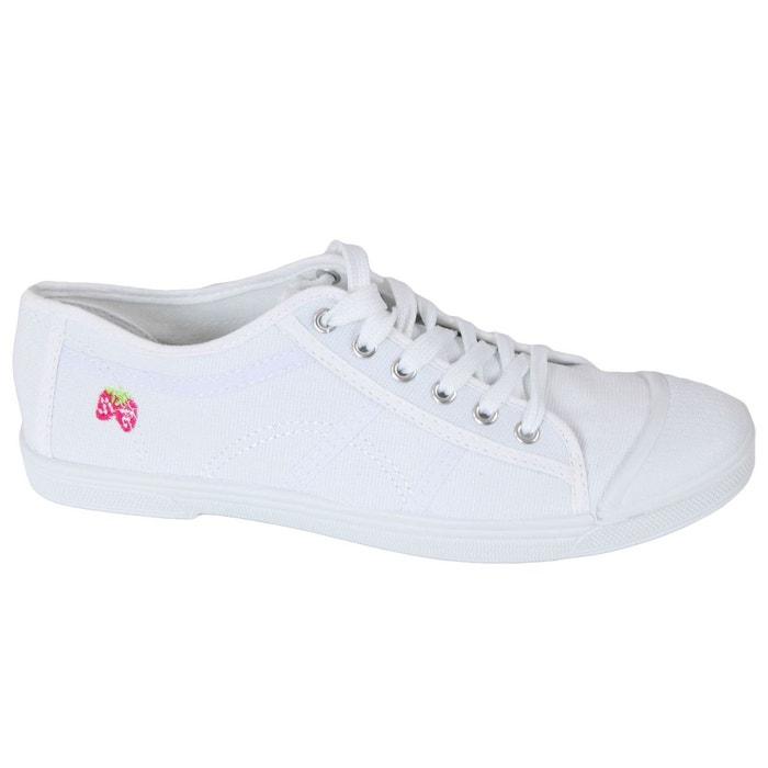 Baskets 8000 blanc Kebello