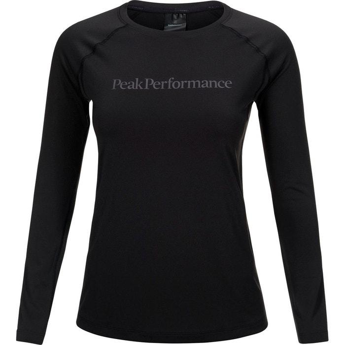 6d44d14552b Gallos co2 - t-shirt manches longues femme - noir noir Peak Performance