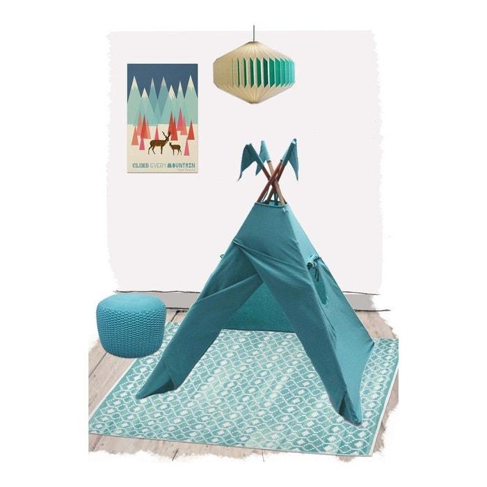 Nomade aqua pour chambre b b par nattiot bleu nattiot - La redoute chambre bebe ...