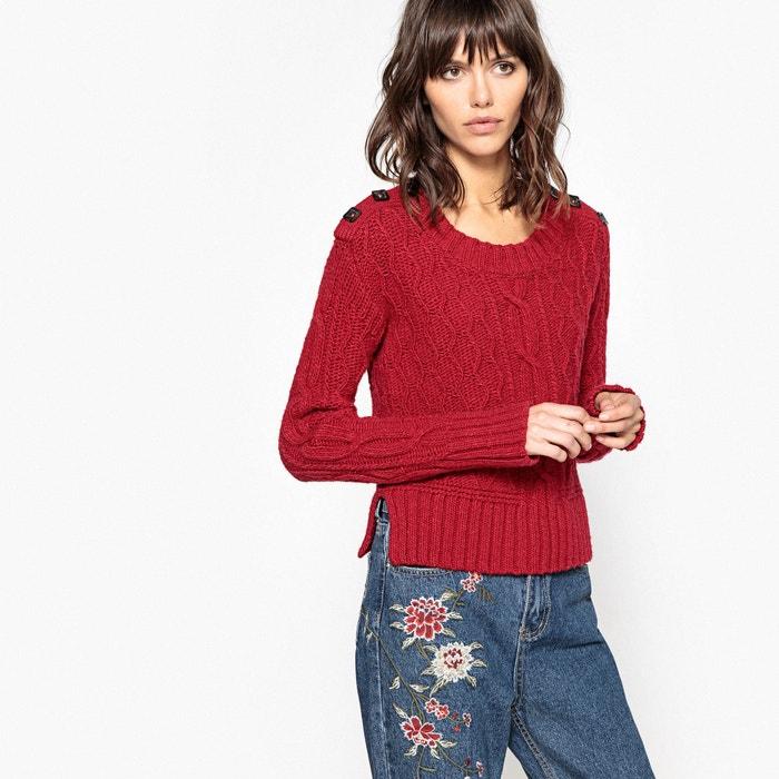Image Pull con scollo rotondo, in lana La Redoute Collections