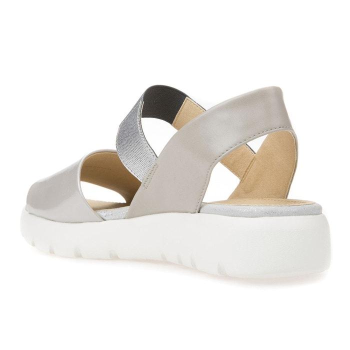 Sandales d amalitha f gris Geox