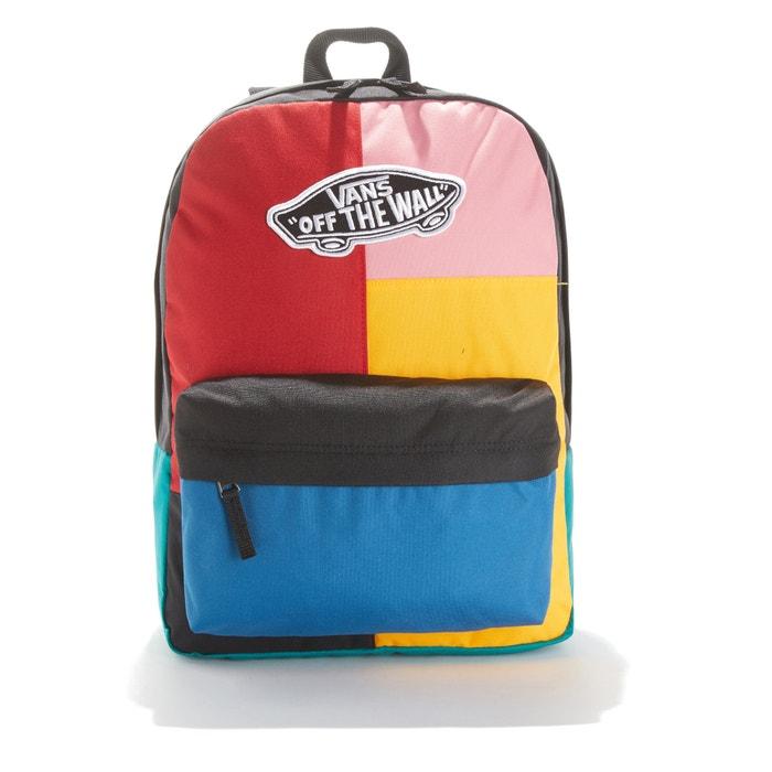 9ce17f1d8d Zaino realm backpack nero/rosso Vans | La Redoute