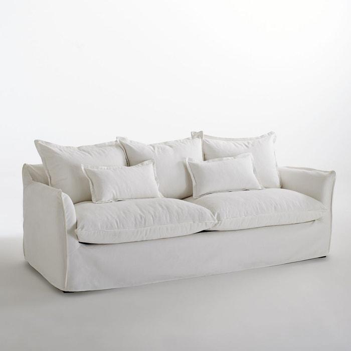 Canapé en coton/lin, Odna, Bultex  La Redoute Interieurs image 0